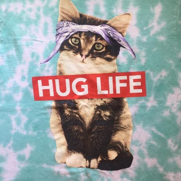 255e767e Cat Kitten Tie Dyed Hug Life Tee. ODM. M_5afdf2ab36b9de85bf8dd7e9.  M_5afdf2ae6bf5a69e82eb9449. M_5afdf2b150687c95f882516a.  M_5afdf2b43b1608e2854d7227
